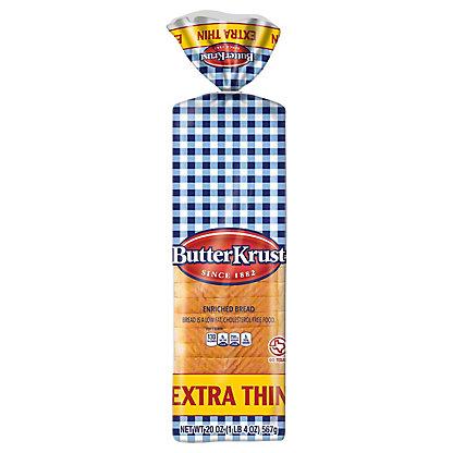 ButterKrust Extra Thin White Bread,20.00 OZ