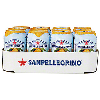 San Pellegrino Orange Soda,12 PK