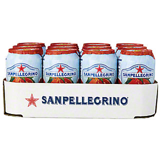 San Pellegrino Blood Orange Soda,12 PK