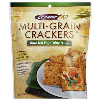 Crunchmaster Multi-Grain Roasted Vegetable Cracker, 4.5 oz