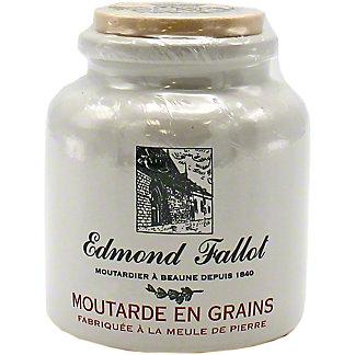 Edmond Fallot Stone Jar Old Fashioned Grain Mustard, 9 oz