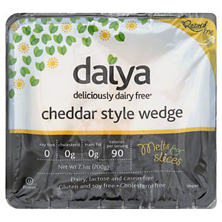 Daiya Cheddar Style Wedge Vegan Cheese,7.10 oz