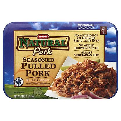 H-E-B Natural Seasoned Pulled Pork,16 OZ