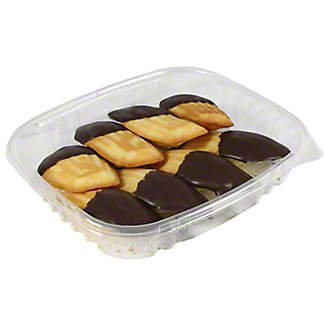 Central Market Chocolate Dipped Madeleine, 8 Count