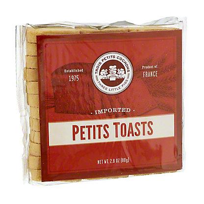 Trois Petits Cochons Petits Toasts,2.75 oz