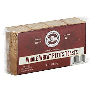 Trois Petits Cochons Whole Wheat Petits Toast, 3.1 oz