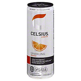 Celsius Celsius Sparkling Orange,12 oz