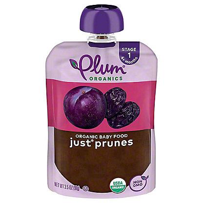Plum Organics Stage 1 Just Prunes Baby Food, 3.5 oz