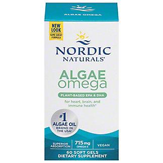 Nordic Naturals Algae Omega 3 Soft Gels,60 CT