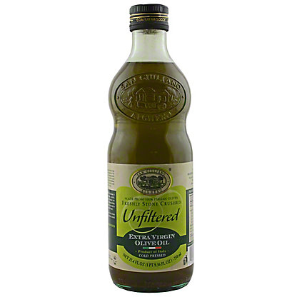 San Giuliano Unfiltered Extra Virgin Olive Oil,750ML