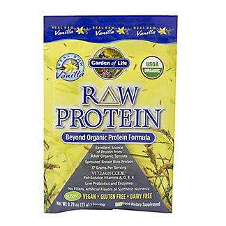 Garden of Life Vanilla Raw Protein Packet, EACH