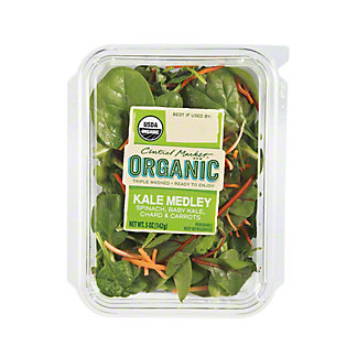 Central Market Organic Baby Kale Medley, 5 oz