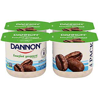 Dannon All Natural Low Fat Coffee Yogurt,4 ct
