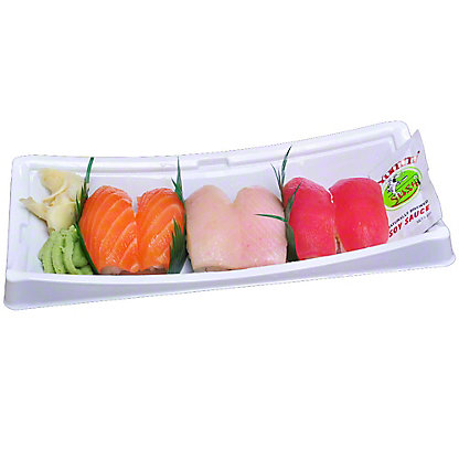 YUMMI SUSHI Sunshine Nigiri Combo 6 Pieces, 6.0 OZ