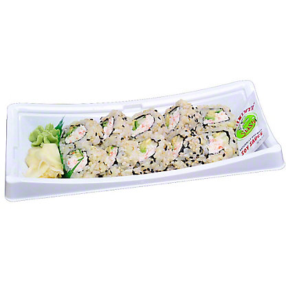 YUMMI SUSHI California Roll - Brown Rice, 6.0 OZ