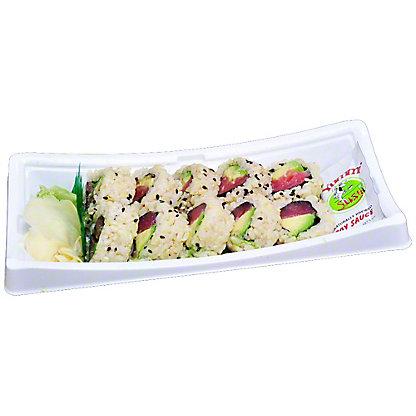 YUMMI SUSHI Tuna-avocado Roll-brown Rice, 6.0 OZ