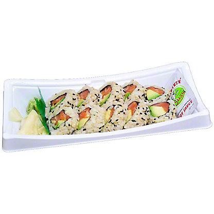 YUMMI SUSHI Salmon-avocado Roll-brown Rice, 6.0 OZ