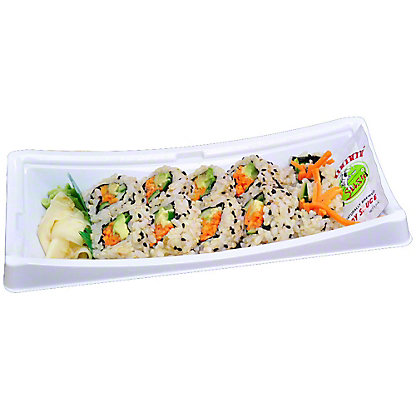 YUMMI SUSHI Vegetarian Roll - Brown Rice, 6.0 OZ