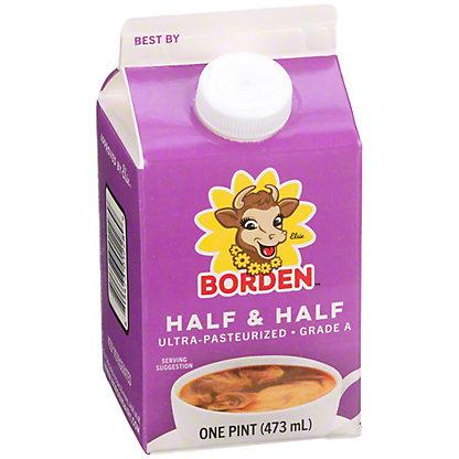 Borden Half & Half,1.00 pt