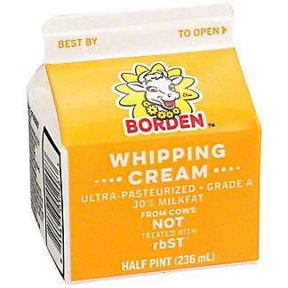 Borden Whipping Cream,8 OZ