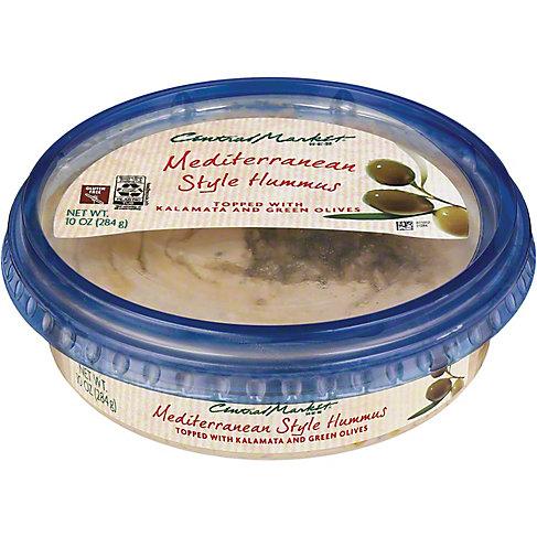 Central Market Mediterranean Hummus, 10 OZ