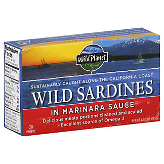 Wild Planet Sardines In Marinara Sauce,125G