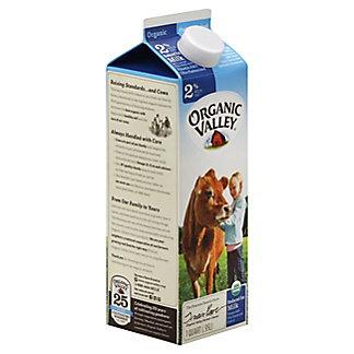Organic Valley 2% Reduced Fat Milk, 1 qt