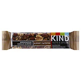 Kind Nuts and Spices Madagascar Vanilla Almond Bar,1.4 OZ