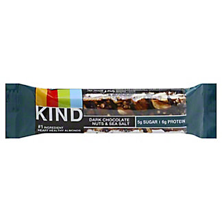 Kind Dark Chocolate Nuts And Sea Salt Nuts And Spices Bar,1.4 oz