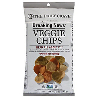The Daily Crave Veggie Chips, 6 OZ