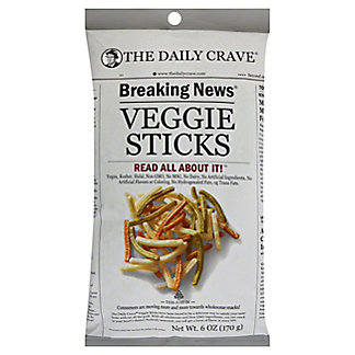 The Daily Crave Veggie Sticks, 6 OZ