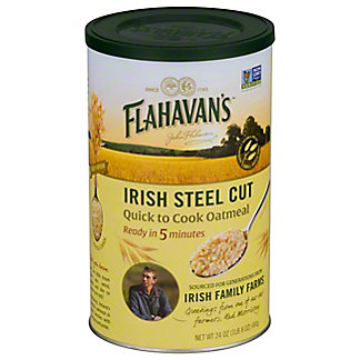 Flahavans Irish Steel Cut Quick Cook Oatmeal, 24OZ