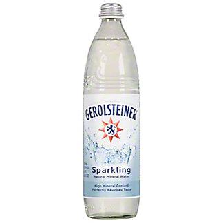 Gerolsteiner Sparkling Natural Mineral Water, 25.3 oz