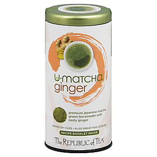 The Republic of Tea U-Matcha Ginger Green Tea Powder, 1.5 oz
