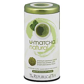 The Republic of Tea U-Matcha Natural Tea Powder, 1.5 oz