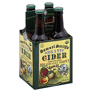 Samuel Smith Organic Cider 4 PK Bottles, 12 OZ