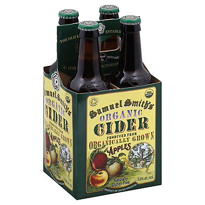 Samuel Smith Organic Cider 4 PK Bottles, 12 OZ