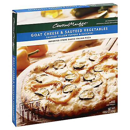 Central Market Central Market Goat Cheese and Sauteed Vegetables Pizza,14.82 oz