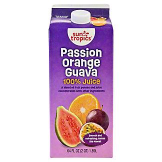 Sun Tropics 100% Juice, Passion Orange Guava, 64.00 oz