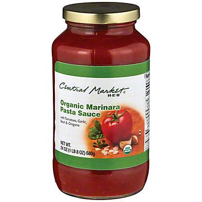 Central Market Organics Marinara Pasta Sauce, 24 oz