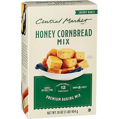 Central Market Honey Cornbread Mix,16 OZ