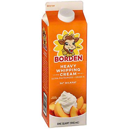 Borden Heavy Whipping Cream,QUART