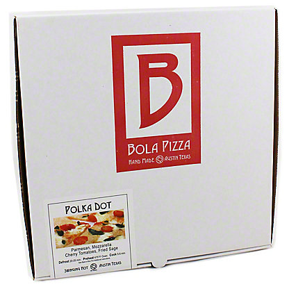 Bola Pizza Polka Dot Pizza,EACH