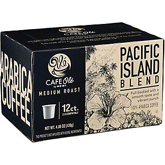 H-E-B Cafe Ole Kona Blend Medium Roast Single Serve Coffee Cups,12 ct