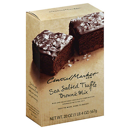 Central Market Sea Salted Truffle Brownie Mix,20 OZ