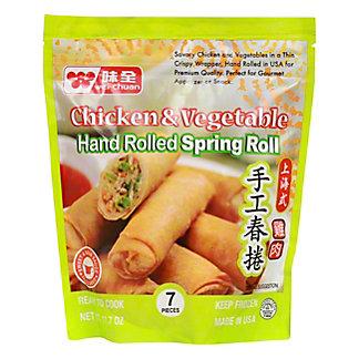Wei-Chuan Chicken & Vegetable Spring Rolls,8 CT