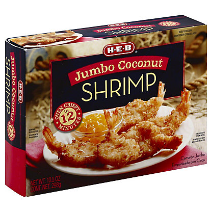 H-E-B Jumbo Coconut Shrimp,10.5 OZ