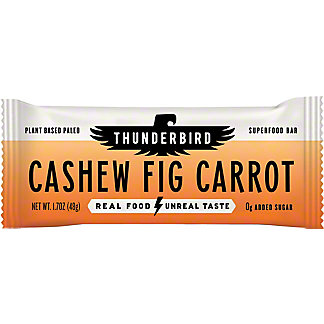 Thunderbird Energetica Cashew Fig Carrot Bars,1.7 OZ
