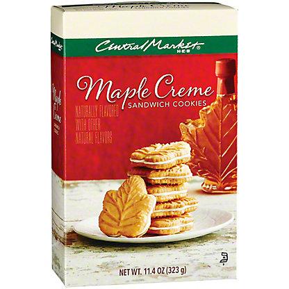 Central Market Maple Creme Sandwich Cookies, 11.4 oz