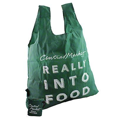Central Market Green Folding Bag,EACH